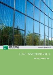 Euro Investipierre 1 - 2011 - BNP Paribas REIM
