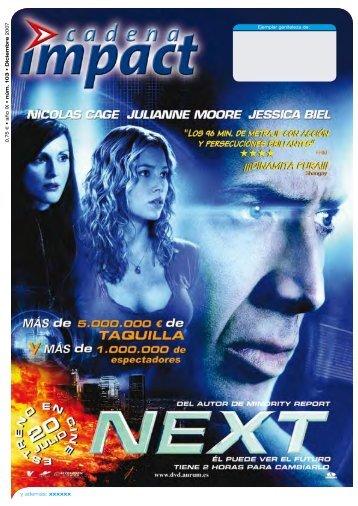 0,75 € • año IX • núm. 103 • Diciembre 2007 y ... - DAS del Video