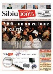 2008 - un an cu bune şi cu rele - Sibiu 100