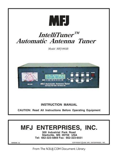 MFJ-993B Intelli
