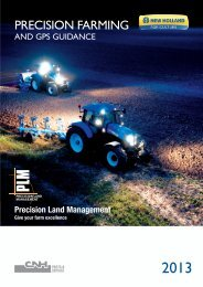 PRECISION FARMING - New Holland PLM Portal