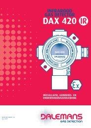 DÈtecteur DAX 420 Infrarouge - Dalemans Gas Detection