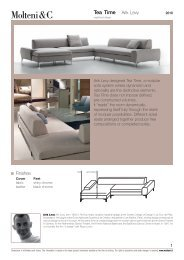1 Tea Time Arik Levy Finishes - Design Lounge by Hinke