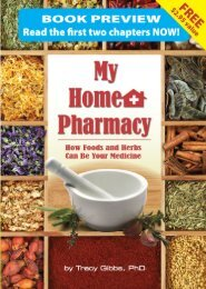 My Home Pharmacy How Foods and Herbs Can Be Your Medicine