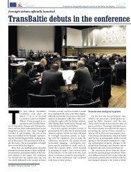 TransBaltic 2/2010 - Baltic Press