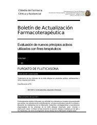 Boletín de actualización farmacoterapéutica: BAF-UNLP. Volumen 10