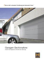 Garagen-Sectionaltore - BLANK-Technik GmbH