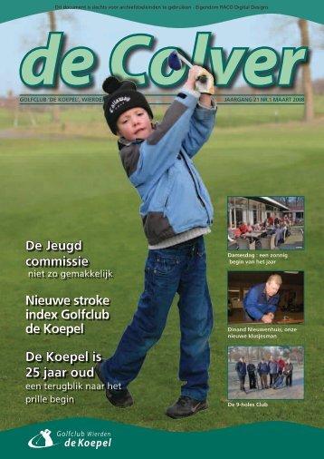 De Jeugd commissie Nieuwe stroke index Golfclub de Koepel De ...