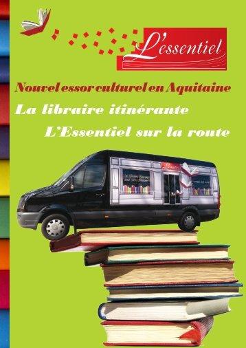 La libraire itinérante L'Essentiel sur la route - Elunet