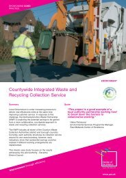 Integrated Waste Collection Service - East Midlands Councils