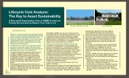 Lifecycle Cost Analysis: The Key to Asset Sustainability