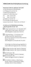 ANMELDUNG BenE-Multiplikatorenschulung ... - BenE – München