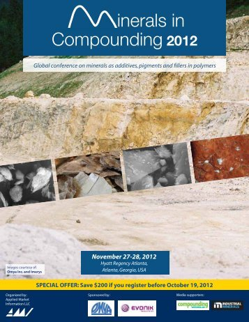 inerals in Compounding 2012 - AMI Consulting