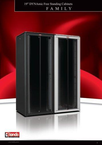 DYNAmic Free Standing Cabinets W600xD1000mm Pdf ... - LANDE