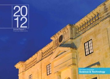 Annual Report & Financial Statements - The Malta Council for ...