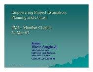 Mumbai Chapter 24 Mar-07 - Cunix