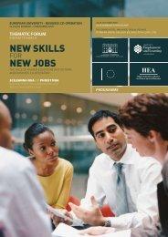 NEW SKILLS NEW JOBS - EURIreland.ie