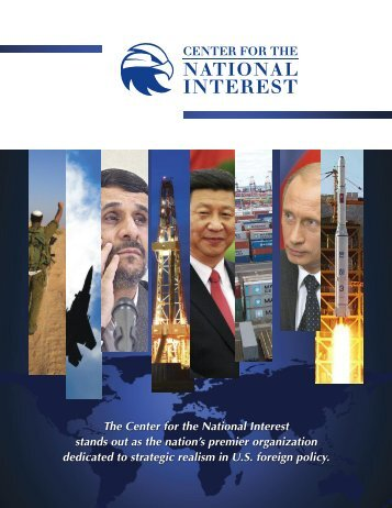 Brochure - Center for The National Interest