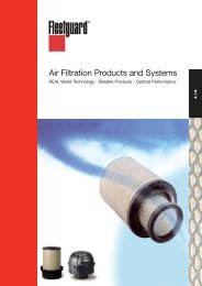 Air Filtration Products and Systems - cumminsfiltration.com