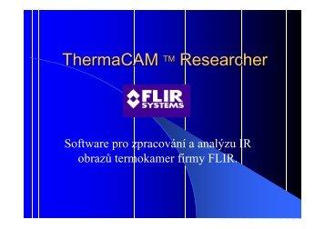 Jak pracovat s Therma CAM Researcher