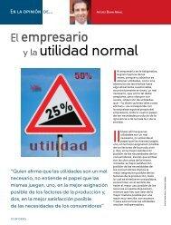 El empresario y la utilidad normal - Coparmex