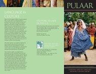Pulaar - National African Language Resource Center