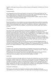 Internationell adoption 1 - Tobias Hübinette