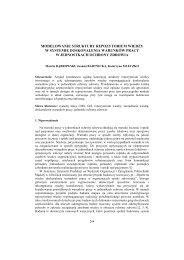 Modelowanie struktury repozytorium wiedzy w systemie ... - PTZP