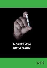 Tekniska data Bult & Mutter - coBuilder