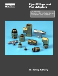 Pipe Fittings & Port Adapters - LSR Distribuidor