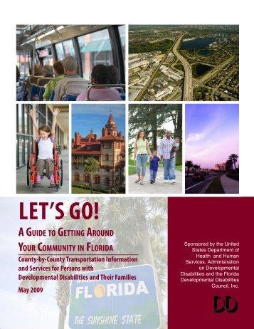 Let's Go! - Florida Developmental Disabilities Council