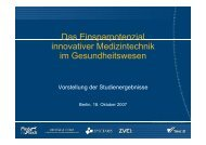 Download Präsentation - Einsparpotenzial innovativer Medizintechnik