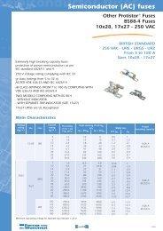 XP SEMICONDUCTOR (AC) FUSES - Mersen