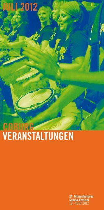 coburg veranstaltungen juli 2012 - Stadt Coburg