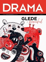 nordisk dramapedagogisktidsskrift n№o3/2o12 - Landslaget drama i ...