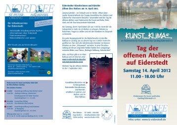 Tag der offenen Ateliers auf Eiderstedt Samstag 14. April ... - Blog.de