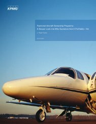Fractional Aviation Ownership Programs - Aerospace Industries ...