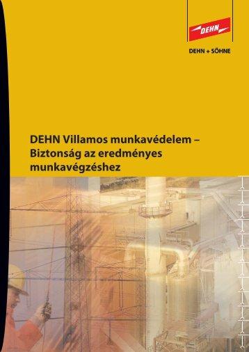 Biztonság az eredményes munkavégzéshez - Dehn