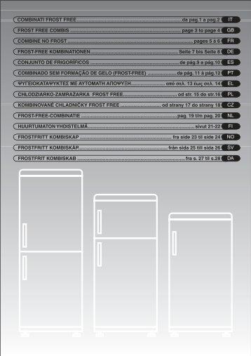 HOOVER fridge freezer - Unipol