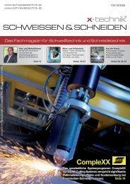 SCHWEISSEN & SCHNEIDEN - x-technik