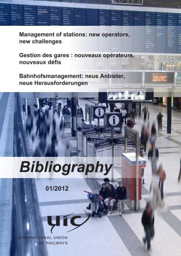 Bibliography - UIC