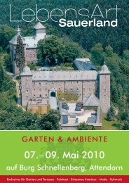07.– 09. Mai 2010 - Goldschmiede Doldi
