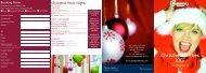 Christmas Parties 2007 - Sleepwell Hotels