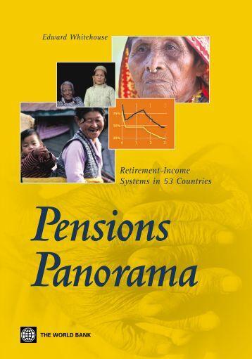Pensions Panorama - ISBN: 0821367641 - Free