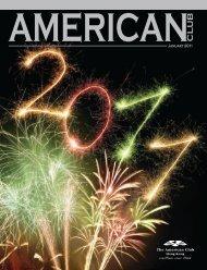 American Club Magazine January 2011 - Pan Asian
