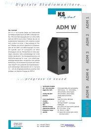ADM W Datenblatt, deutsch - bei Thum + Mahr!