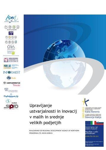 Upravljanje ustvarjalnosti in inovacij v malih in srednje velikih ... - iCon