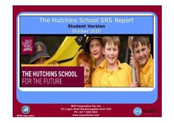 The Hutchins School SRS Report