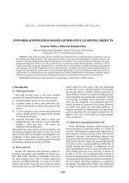towards knowledge-based generative learning objects - Information ...