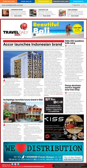 11 March 2013.indd - Travel Daily Media
